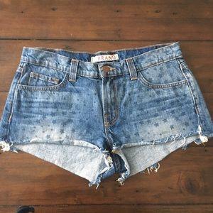 NWOT J Brand Star Jean Shorts Size 27